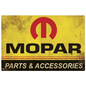 Mopar Logo '64-'71 Tin Sign