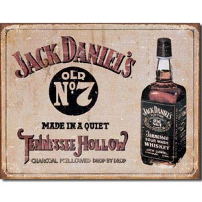 Jack Daniels - Tennessee Hollow - Tin Sign