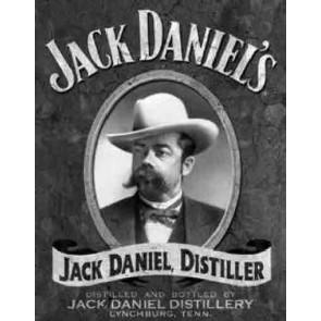 Jack Daniels - Portait - Tin Sign