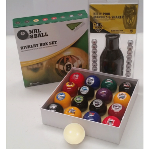 NRL Licensed KELLY POOL BALLS - Mixed TEAM SET