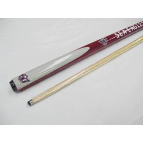 "NRL Licensed Pool Snooker Billiards CUE - 2pce 57"" - Manly Warringah SEA EAGLES"