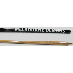 "AFL Licensed Pool Snooker Billiards CUE - 2pce 57"" - Melbourne DEMONS"