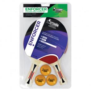 Enforcer 2 Player Table Tennis Set