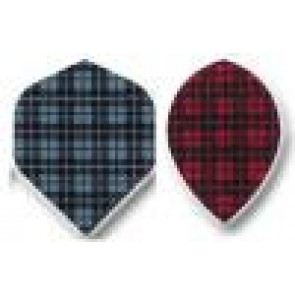 Fabric Emblem DART FLIGHTS Pear - Set of 3