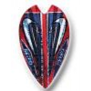 Retro Vortex Shape Dart Flights Set of 3
