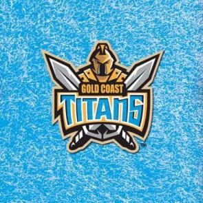 NRL Licensed Pool Snooker Billiards CLOTH 7 Foot - Gold Coast TITANS
