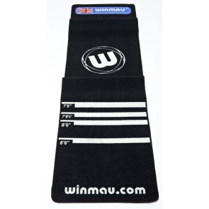 Winmau Soft Feel Dart Board MAT - Distance Markers