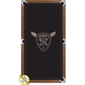 Graphic Digitally Printed Personalisable Wings 7ft Pool Table Cloth